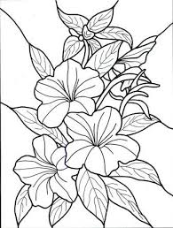 Coloring Pages Of New Flowers Book