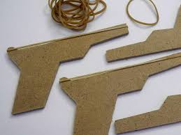 We Used To Make These When Were Kids It Was A Lot Of Fun Spent Time Looking For The Right Piece Wood And Rubber Bands