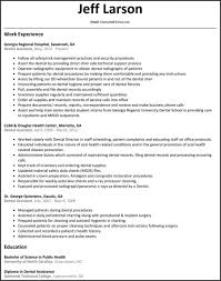 100 Dental Assistant Resume Templates For Assistant Awesome Assistant Template