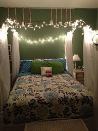 Girls Bedroom String Lights Photo