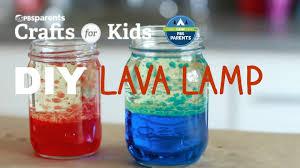 DIY Lava Lamp Crafts for Kids
