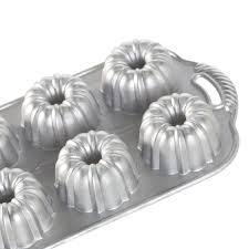 Nordic Ware Pumpkin Cake Pan Recipe by Amazon Com Nordic Ware Platinum Collection Anniversary Bundtlette