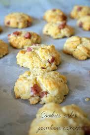 cuisiner facile cookies salés au jambon un apéro en 5 minutes recette apéro