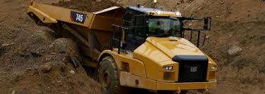 100 Articulated Truck New Cat 745 Articulated Truck Mining Magazine