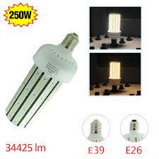 ac100 277v 250w retrofit warehouse high bay light bulb replace