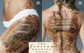 Car Tattoos A New Meaning For Muscle Cars