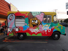 Ice Cream Truck Mural | Www.topsimages.com