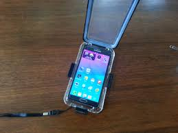 Got the waterproof case off ebay pics Android Forums at