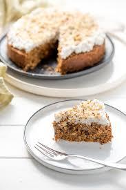 saftiger karottenkuchen zuckerfrei und glutenfrei rezept