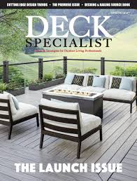 Usp Deck Designer Requirements by Deck Specialist Spring 2017 By 526 Media Group Issuu
