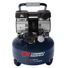 Campbell Hausfeld 6 Gal Electric Pancake Quiet Air pressor