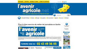 chambre d agriculture sarthe journaliste expulsée le président de la chambre d agriculture de