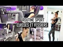 salle musculation 16 routine sport cuisses et fessiers à la salle