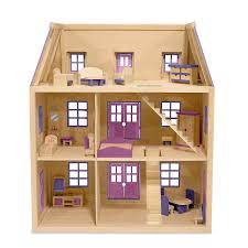 Melissa Doug MultiLevel Wooden Dollhouse Manualidades