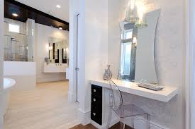 Bath Vanities With Dressing Table by Vanity Dressing Table Bathroom Contemporary With Baseboards