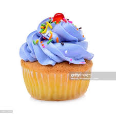 Close Up Of Cupcake Against White Background