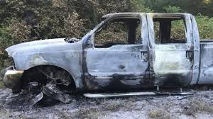 Soldier's Truck Stolen, Torched Elk Point Mounties Say Truck On Fire Stolen From Local Company My California Man Arrested For Taking Joy Ride Stolen Truck Found Burned Out At Pawnee Lake 1041 The Blaze Lawn Equipment Worth More Than 6k In Sw Houston Custom Paraplegic Has Been Found Chase Volving Ends Atascosa County 10 Married Couple And Mother Driving Dump Kforcom Following Hit Run Crash Authorities Searching 18wheeler Harris Abc13com Owners Reunite With Christmas Eve Surveillance Footage Shows Pickup Crash Into City Councilors