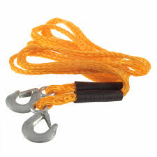 100 Tow Ropes For Trucks 3M Rope Tow Vehicle Tools Emergency Truck Auto Car Atv Towing