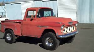 100 Old Chevy 4x4 Trucks For Sale 1955 Chevrolet Napco YouTube