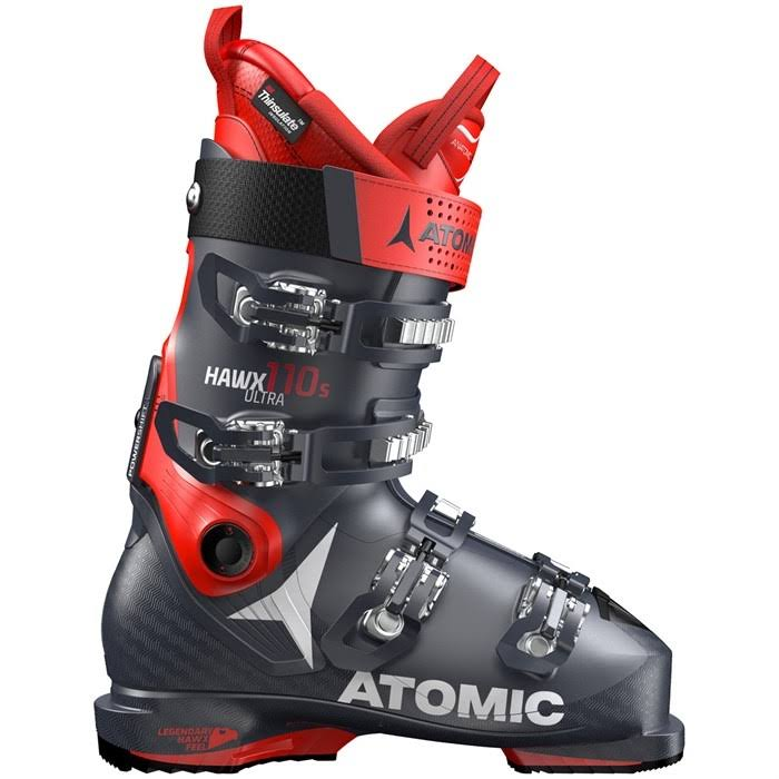 Atomic Men's Hawx Ultra 110 S Ski Boots - Dark Blue/Red, 25.5 EU
