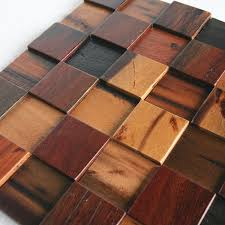 Ship Wood Solid Mosaic Wall Decoration Materials HMWM1001 For Backsplash Kitchen Sticker Bathroom Floor Tiles In Stickers From Home