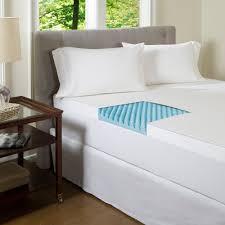 beautyrest 4 inch textured gel memory foam mattress topper