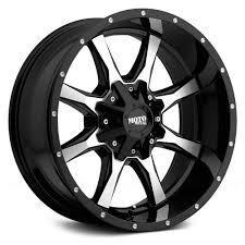 100 Rims For A Truck 20 Moto Metal MO970 Black Machined Wheels 5x55 5 Lug Dodge