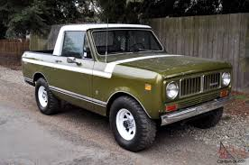100 International Scout Truck 1976 II Custom Pickup One Of A Kind MUST SEE