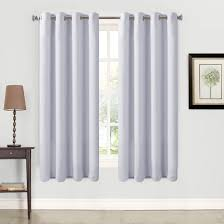 White And Gray Blackout Curtains by Living Room Blackout Curtains Eclipse Blackout With Blackout