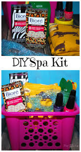 Make A Fun DIY Spa Kit With Your Teen Daughter FiercelyCleanPores BioreUS