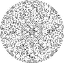 Free Mandala Coloring Pages For Adults Printable