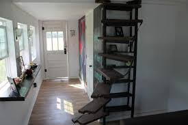 Tiny Home Spiral Staircase Kaitlin Snyder Custom