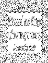 Give Thanks Adult Coloring Book Inspirational Quotes From The Bible Christian Volume