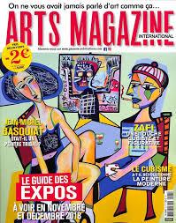 Abonnement Arts Magazine International Intermagazines