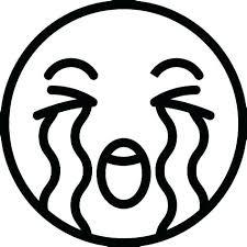 Printable Emoji Coloring Pages Faces Happy Face Page Smiley Movie