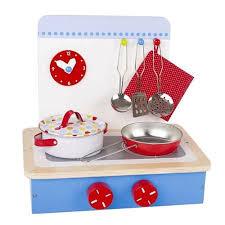 cuisine enfant 3 ans cuisine jouet en bois 9 accessoires table de cuisson pour enfants