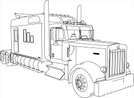 Peterbilt Semi Truck Coloring Pages | Great Free Clipart, Silhouette ... Semi Truck Outline Drawing How To Draw A Mack Step By Intertional Line At Getdrawingscom Free For Personal Use Coloring Pages Inspirational Clipart Peterbilt Semi Truck Drawings Kid Rhpinterestcom Image Vector Isolated Black On White 15 Landfill Drawing Free Download On Yawebdesign Wheeler Sohadacouri Cool Trucks Side View Mailordernetinfo