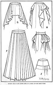 Drawn Woman Fashion Drawing 12