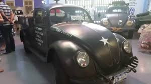 1945 Volkswagen Beetle Pickup From World War 2 - YouTube