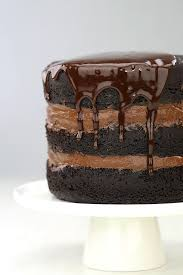 Rustic Chocolate Cake With Ganache Recipe On We Heart
