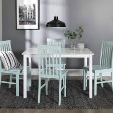 New 5 Piece Chic Dining Set-Table And 4 Chairs-White/Sage Finish Garrison 14900 By Standard Fniture Curated Console Table Universal Danish Modern 1960s Ding Room W 6 Garrison 5 Piece Ding Set Side 102911 In Cherry Coaster Woptions Grey Rectangle 7pc Super Co Ry51 Advancedmasgebysara End 3pc Wood Top Coffee Native Citizen Vig 3pc Walnut Set New Piece Chic Settable And 4 Chairswhitesage Finish