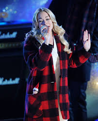 Rockefeller Christmas Tree Lighting 2014 Mariah Carey by Leann Rimes At Rockefeller Christmas Tree Lighting Ceremony In New