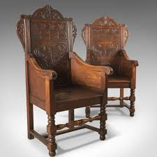 Antique Pair Of Baronial Hall Chairs, English Oak Armchairs, C ... Sold Peter H Eaton Antiques Antique Chairs Uk Ding Sofas Fniture Victorian Antique French Cherry Wood Settee Bench Sofa 625 Best Sofa Images On Pinterest Office Chairs And The Deconstructed Look Trend Or Timeless Tidbitstwine Leather Wingback Armchair For Rustic Living Room Ideas Armchairs Laurel Crown Ebth 0415antiqueshtml English Regency Mahogany Library Caned Amazing 35jpgset Id2