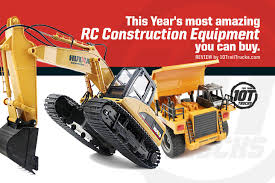 RC Construction Equipment | Best Excavators, Dump Trucks And Loaders