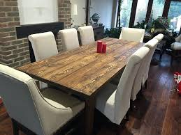 Full Image For Round Black Dining Tables Solid Rustic Room Table 8 Person Chairs Not Included