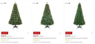 Target Pre Lit Trees Off Xmas