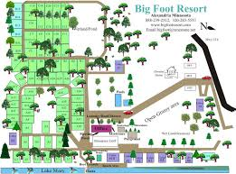 Cabins RV Park Season And Winter Rates Resort Map