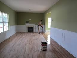 Applying Polyurethane To Hardwood Floors Without Sanding by Hardwood Floor Refinishing Project How Long Does It Take