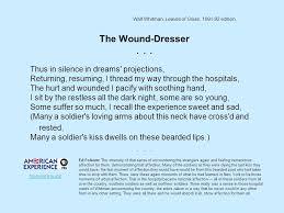 walt whitman s civil war poetry ppt video online download