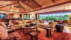Bright Tropical Living Room Design Ideas